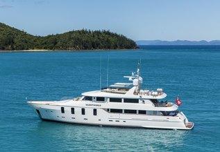 Silentworld Charter Yacht at Australian Superyacht Rendezvous 2018