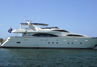 Natalia Charter Yacht at Palm Beach Boat Show 2014
