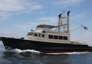 Island Hope Charter Yacht at Fort Lauderdale Boat Show 2015