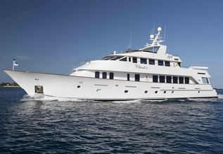 Cherish II Charter Yacht at Miami Yacht Show 2019
