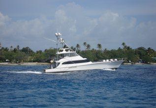 Hullbilly Charter Yacht at Palm Beach Boat Show 2016