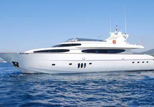 Beija Flore Charter Yacht at MYBA Charter Show 2013