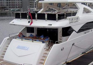 Frivolous Charter Yacht at Palma Superyacht Show 2017
