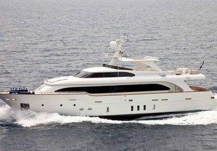 La Chilonga II Charter Yacht at Palma Superyacht Show 2019