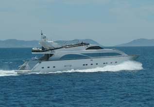 Dream B Charter Yacht at Mediterranean Yacht Show 2015