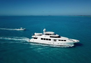Now Or Never Charter Yacht at Miami Yacht Show 2020
