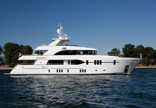 Dream Weaver Charter Yacht at Fort Lauderdale Boat Show 2015