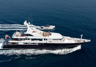 Helios Charter Yacht at Fort Lauderdale Boat Show 2015
