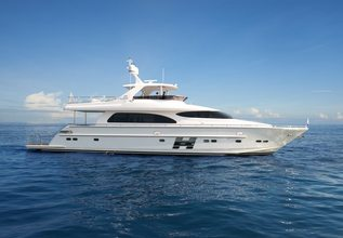 Horizon E78 Charter Yacht at Palm Beach Boat Show 2016