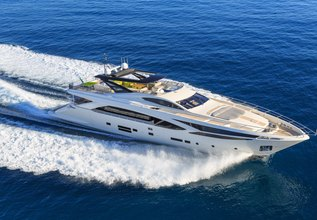 Seataly Charter Yacht at Monaco Grand Prix Yacht Charter