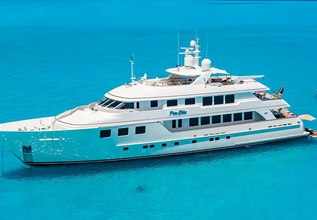 Pure Bliss Charter Yacht at Palm Beach Boat Show 2014