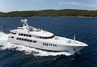 Mustique Charter Yacht at Monaco Yacht Show 2015