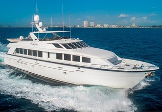 Pure Vida Charter Yacht at Fort Lauderdale Boat Show 2019 (FLIBS)
