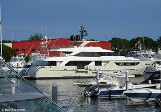 North Star Charter Yacht at Fort Lauderdale Boat Show 2017