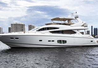 Morning Star Charter Yacht at Fort Lauderdale Boat Show 2019 (FLIBS)