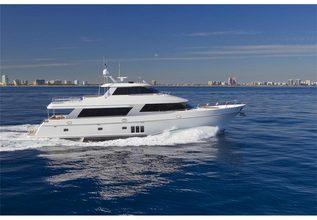 Suraboza Charter Yacht at Fort Lauderdale Boat Show 2014