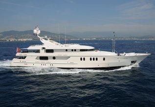 Seahorse Charter Yacht at Monaco Yacht Show 2015