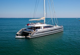 WindQuest Charter Yacht at Antigua Charter Yacht Show 2014