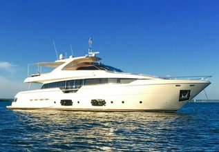 Club M old  Charter Yacht at Miami Yacht Show 2019