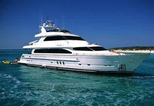 Almost There Charter Yacht at Fort Lauderdale Boat Show 2015