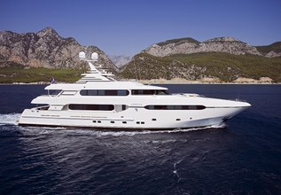 Mochafy 22 Charter Yacht at The Superyacht Show 2019