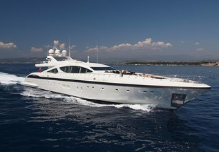 Miss Moneypenny V Charter Yacht at Miami Yacht Show 2020