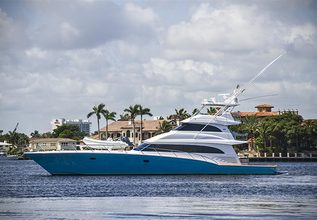 Silky Charter Yacht at Fort Lauderdale Boat Show 2015