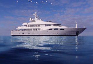 Fortunate Sun Charter Yacht at Monaco Yacht Show 2017