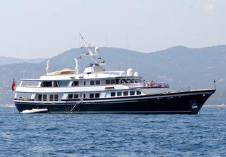 Nafisa Charter Yacht at Monaco Grand Prix 2016