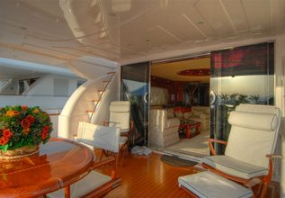 Crazy Love Charter Yacht at Fort Lauderdale Boat Show 2015