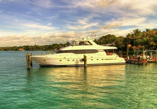 Mystic Star Charter Yacht at Fort Lauderdale Boat Show 2015