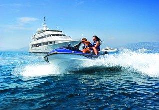 Ionian Princess Charter Yacht at Mediterranean Yacht Show 2017