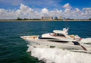 Praying for Overtime II Charter Yacht at Fort Lauderdale International Boat Show (FLIBS) 2020- Attending Yachts
