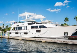 Viaggio Charter Yacht at Fort Lauderdale Boat Show 2015