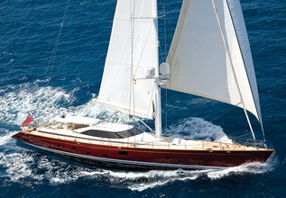 Anemoi Charter Yacht at Palma Superyacht Show 2017
