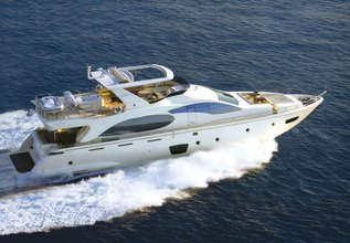 Tropicana Charter Yacht at East Med Yacht Show 2013