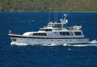 Trilogy Charter Yacht at Fort Lauderdale Boat Show 2014