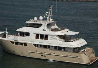 Mocean Charter Yacht at Monaco Yacht Show 2014