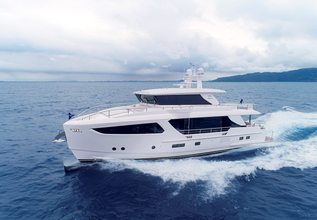 Well Done Charter Yacht at Fort Lauderdale Boat Show 2019 (FLIBS)