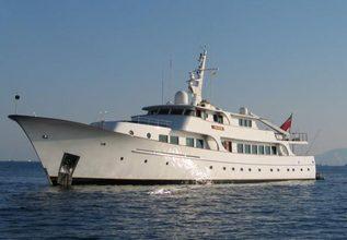Kriss Charter Yacht at Festival de la Plaisance de Cannes 2013