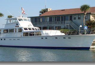 Hemingway Charter Yacht at Palm Beach Boat Show 2014