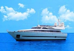 Thirty Love Charter Yacht at Mediterranean Yacht Show 2018