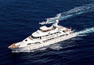 Superfun Charter Yacht at Monaco Grand Prix Yacht Charter