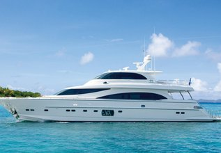 Satori Charter Yacht at Fort Lauderdale Boat Show 2016