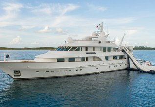 Big Easy Charter Yacht at Fort Lauderdale Boat Show 2014