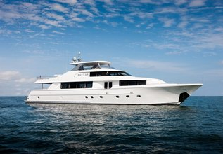 Hannah Charter Yacht at Fort Lauderdale Boat Show 2019 (FLIBS)
