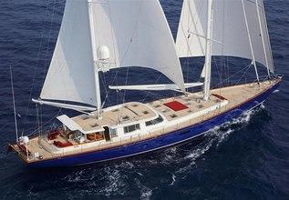 Cyrano de Bergerac Charter Yacht at Palma Superyacht Show 2018