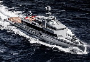 Bold Charter Yacht at Miami Yacht Show 2020