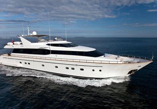 Synergy Y Charter Yacht at MIPIM 2014