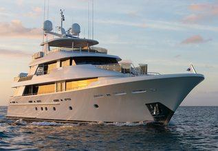 Top Dog Charter Yacht at Yachts Miami Beach 2016